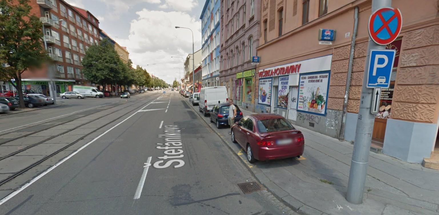 Parkování Štefánikova 1