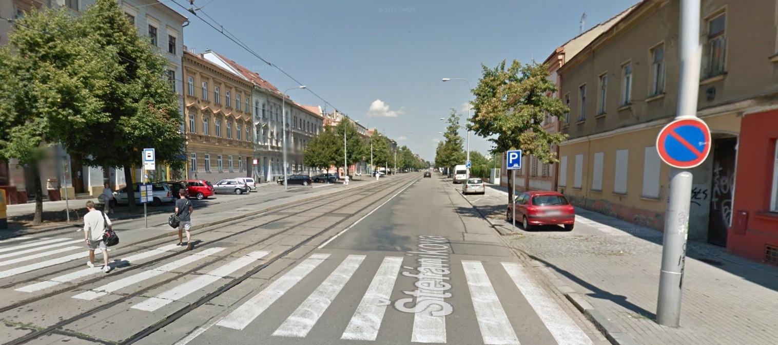 Parkování Štefánikova 2