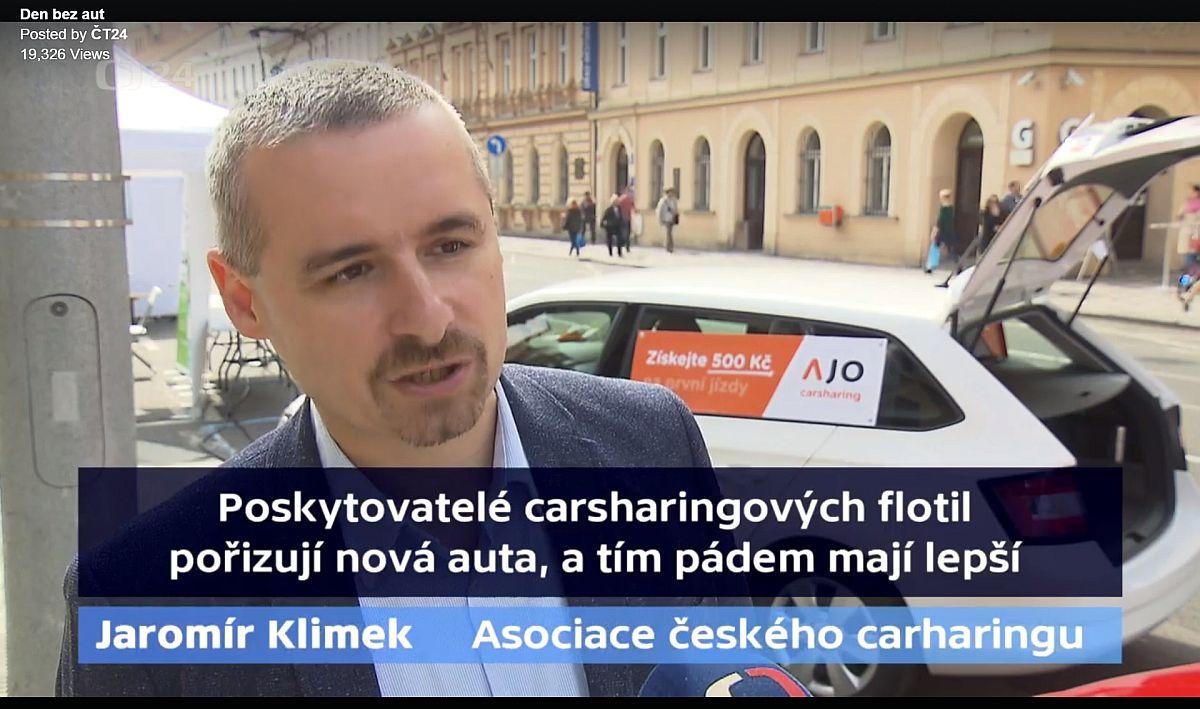 Den bez auta Praha, Jaromír Klimek
